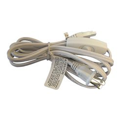 Illume 6' Power Cord With Switch For Xenon Pucks