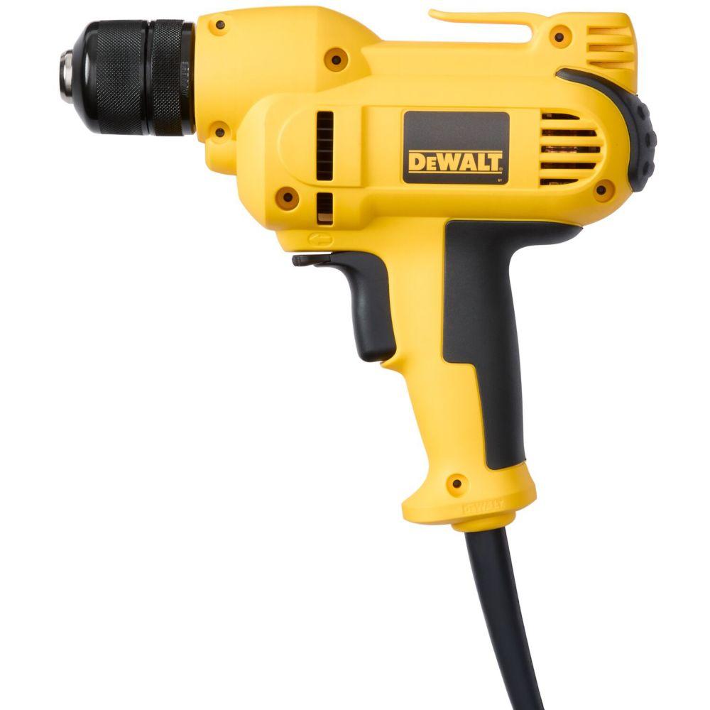 DEWALT 3/8-inch Heavy-Duty VSR Mid-Handle Drill Kit