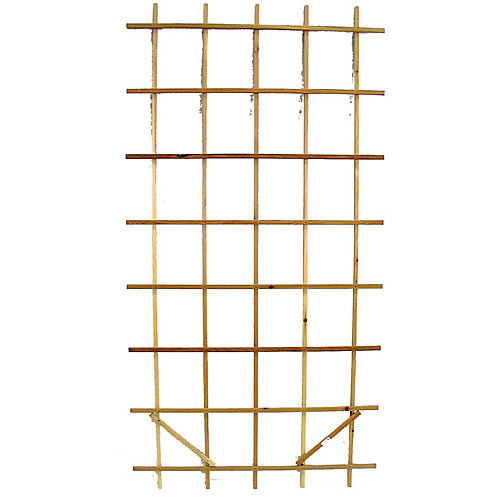 AIM Cedar Outdoor Premium Ladder 4 ft x 8 ft Trellis