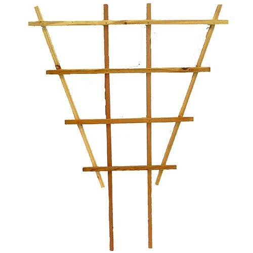 AIM Cedar Outdoor Premium Flair 3 ft. x 3 ft. Trellis