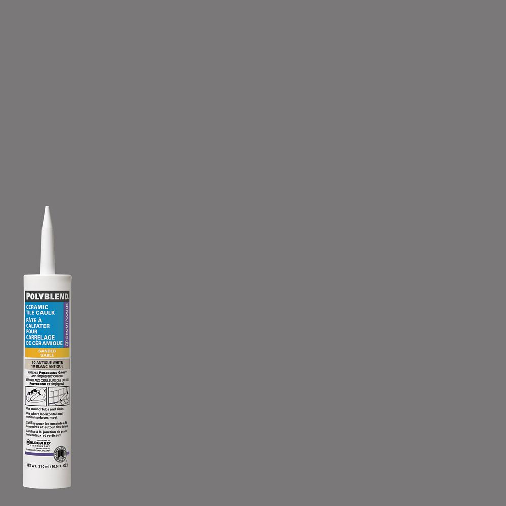 Custom building products pre mixed tile adhesive grout the 165 delorean gray sanded caulk dailygadgetfo Images