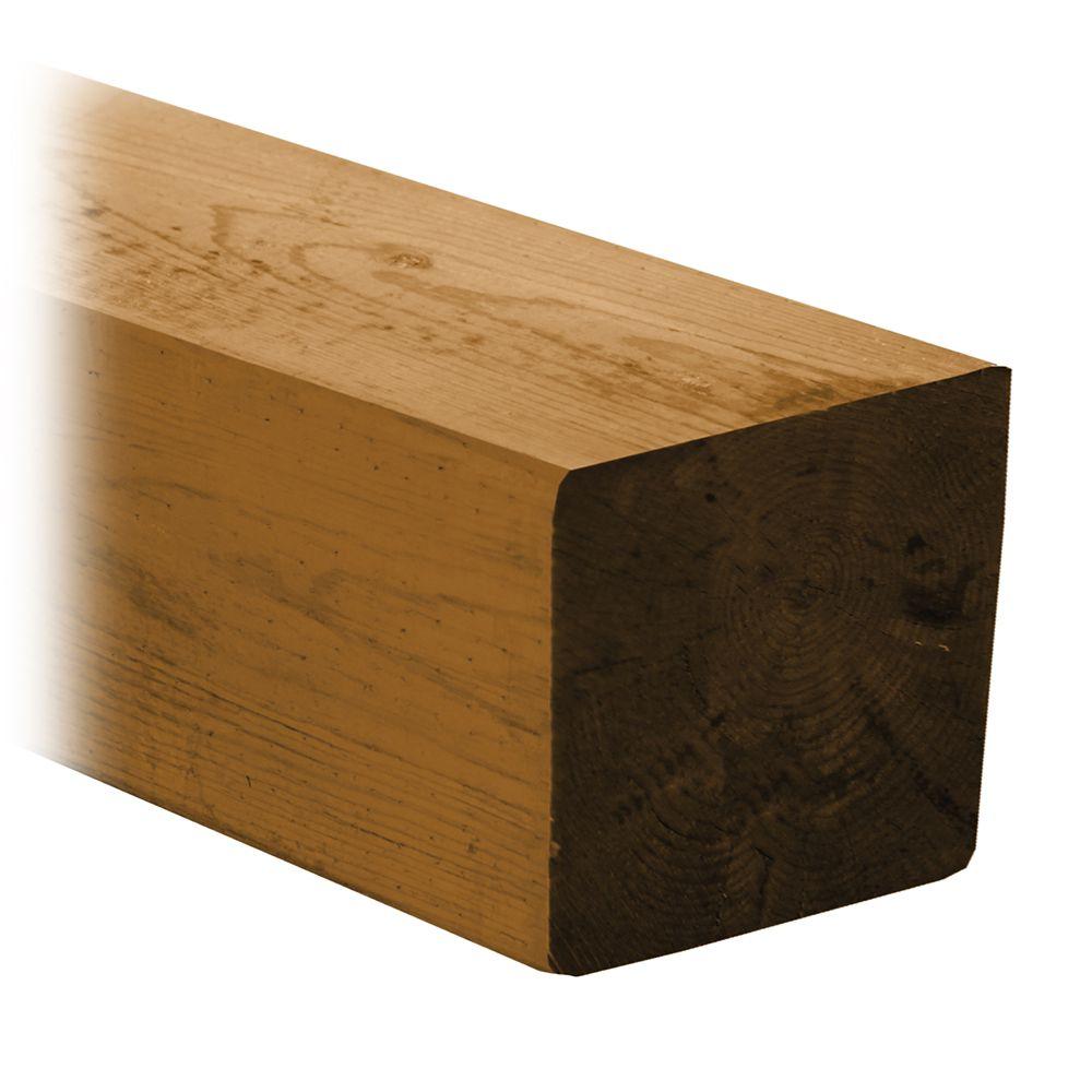 Cedartone Classic Lumber 6 in x 6  in x 12 Feet