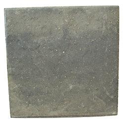 Cindercrete Dalle-18 po X18 po - Ardoise -Gris/Anthracite