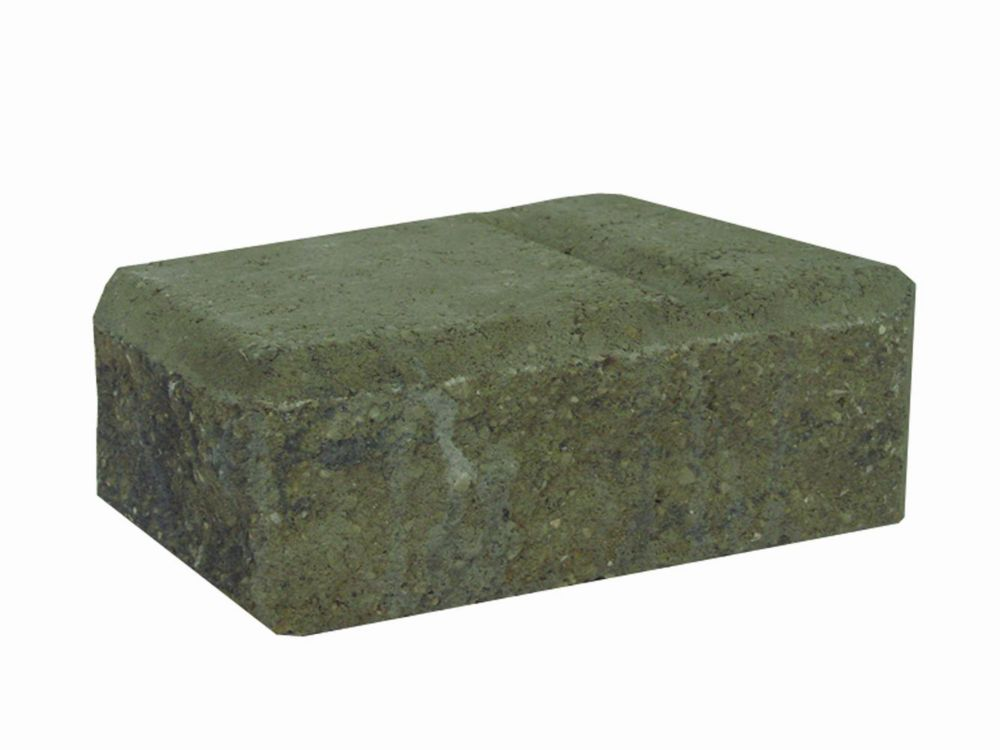 Cindercrete Easy Stack Rocky Mountain Blend Large Corner Wall Block