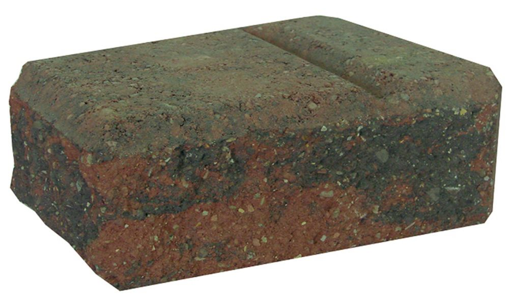 Stonewall Easy Stack - Large Corner - Red/Charcoal