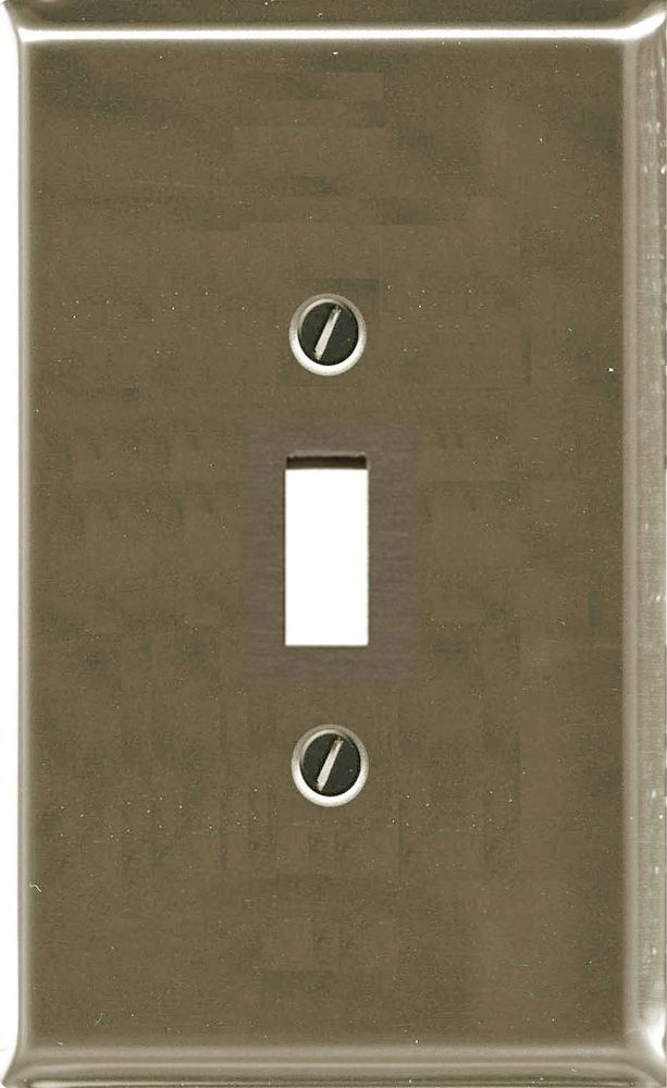 Traditional Brushed Nickel Toggle