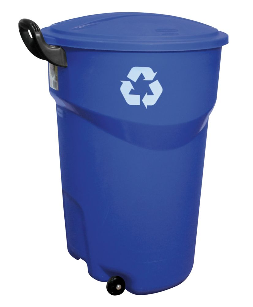 Rubbermaid trash can 121l 32g recycle the home depot canada - Home depot recycling containers ...