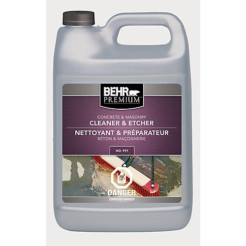 Premium Concrete & Masonry Cleaner & Etcher, 3.79 L