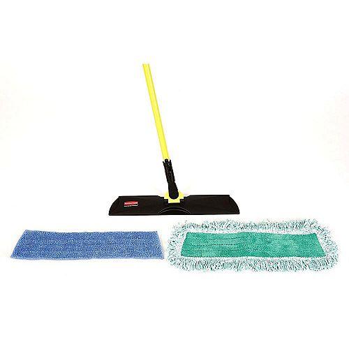 Rubbermaid Microfiber Mopping Kit