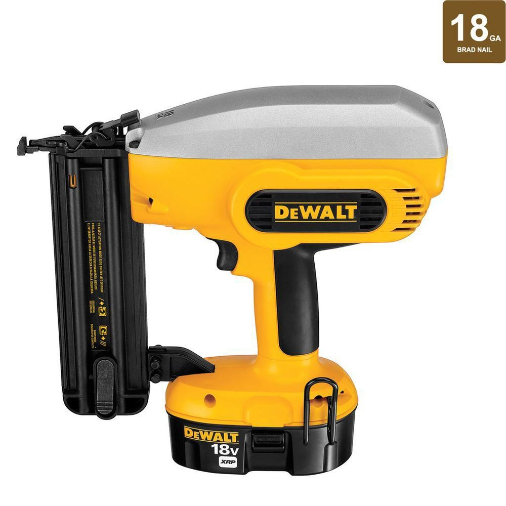 "18V 2"" Cordless Brad Nailer - Free Battery"