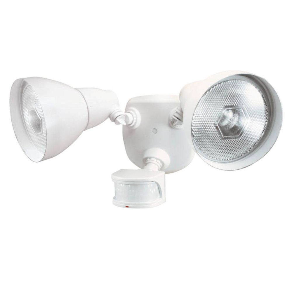 Defiant 270 Degree Motion Sensing Security Light White The Home Depot Canada