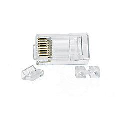RJ45 Cat6 Modular Plugs (25-Pack)