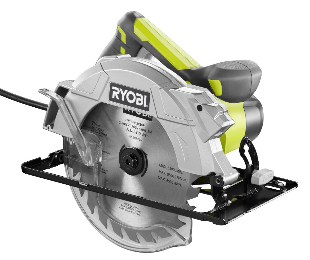 14 Amp, 7 1/4-inch Circular Saw with Laser