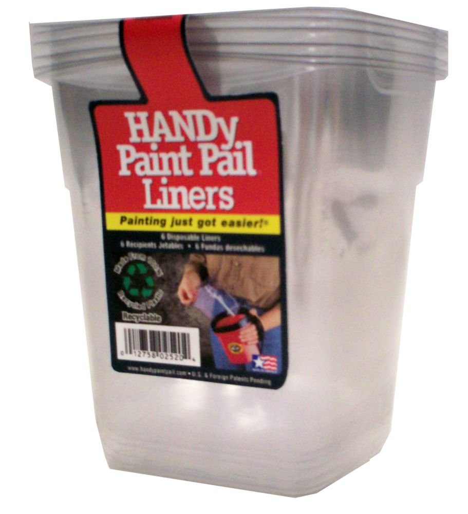 HANDY Paint Pail<sup>®</sup> Liners 6pk