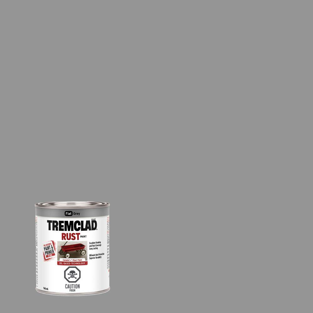 Tremclad Flat Grey 946Ml