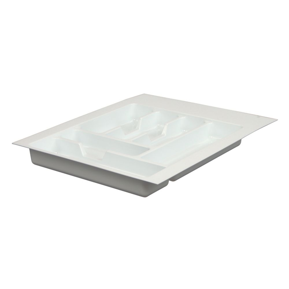 Silverware Tray That Fits 15inch To 18inch (38.1 Centimeter - 45.7 Centimeter) Inside Width TW-1517-R-W Canada Discount