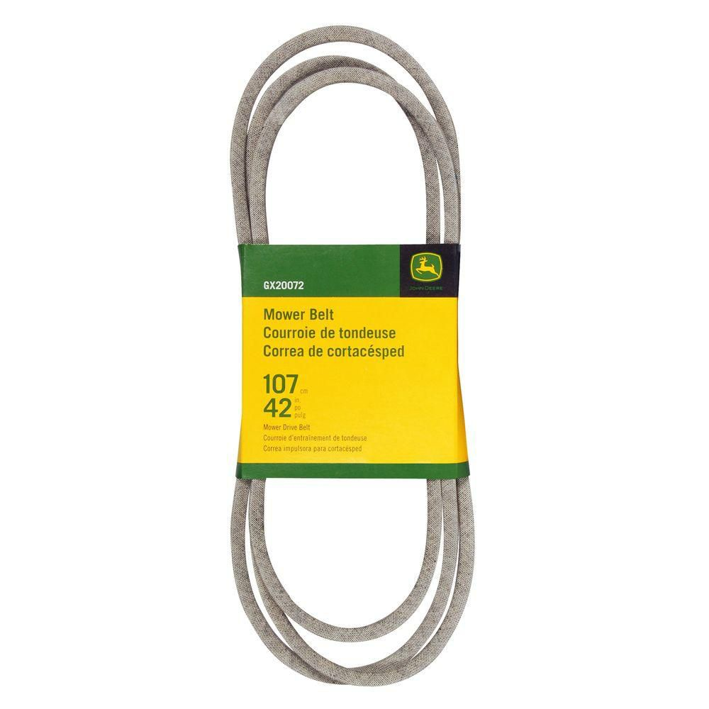 42 inch Mower Belt for Select John Deere Mowers