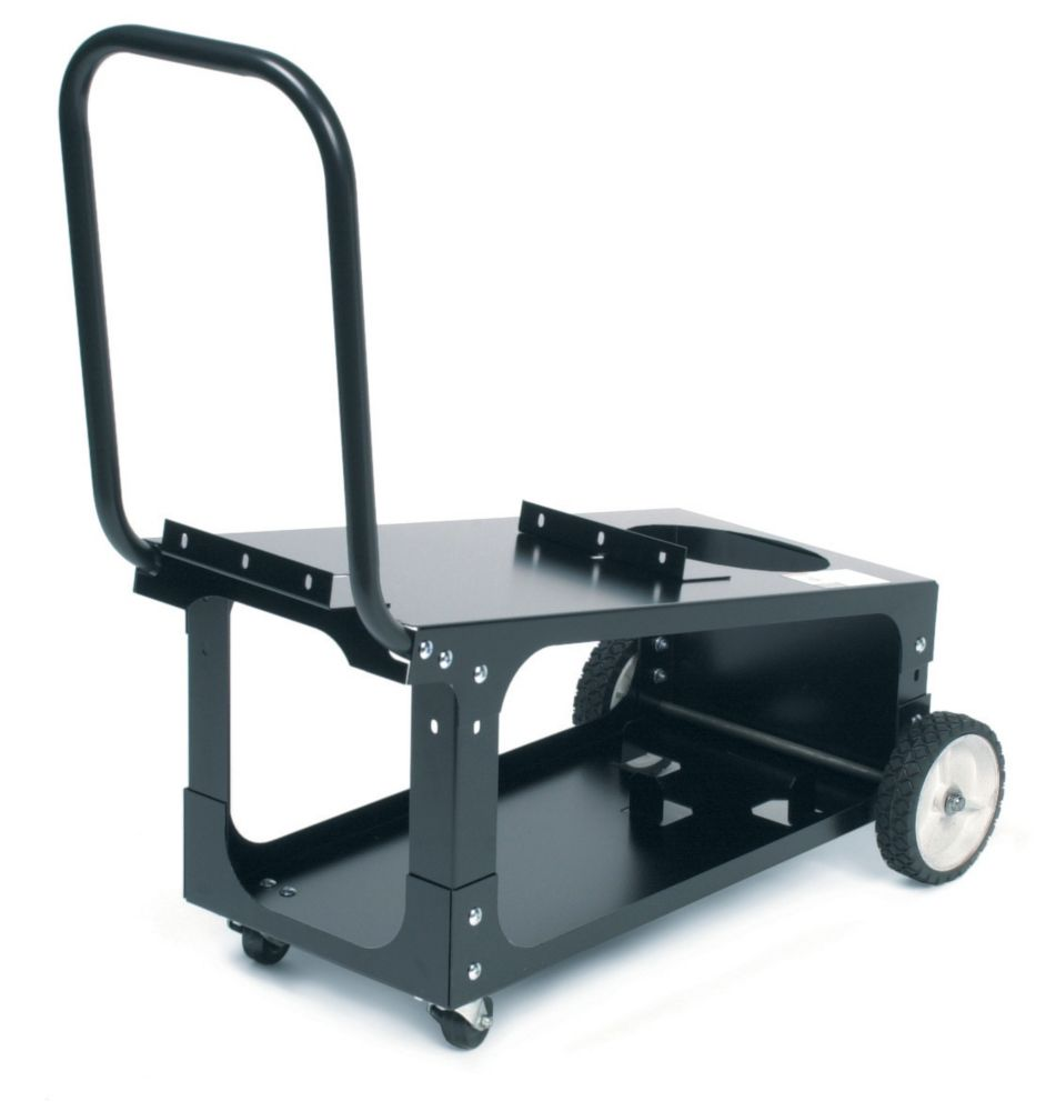 Wire Feed Welder Cart (80 cu ft. bottle capacity)