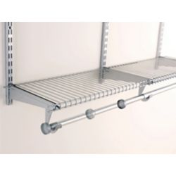 Rubbermaid Configurations 2ft. To 4ft. Adjustable Rod