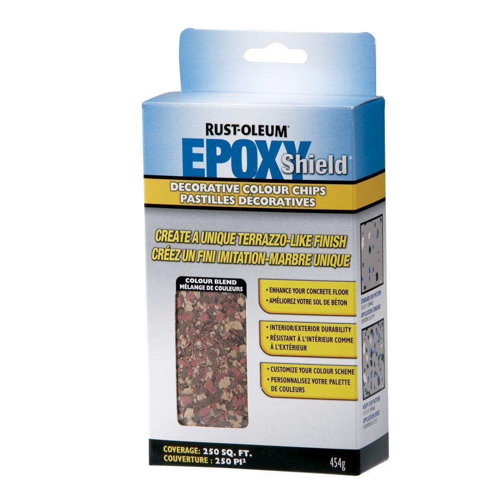 Epoxy Shield Chips Brick Red