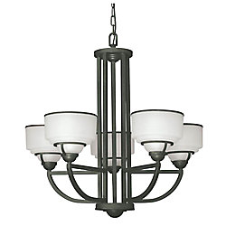 Hampton Bay Levanto 5Light Chandelier
