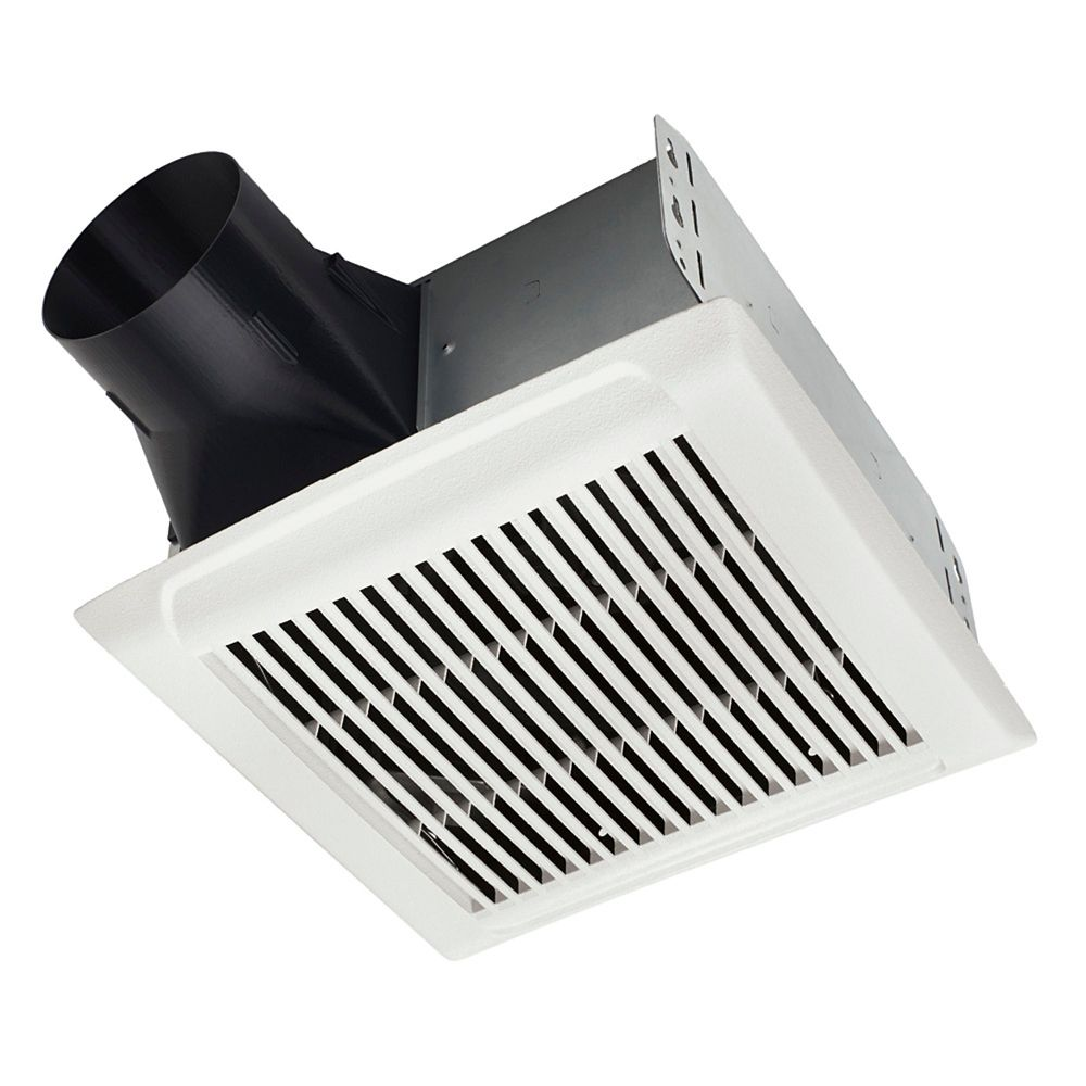 Nutone Kitchen Exhaust Fan: Nutone Invent Single-Speed Fan 80 CFM, 2.0 Sones