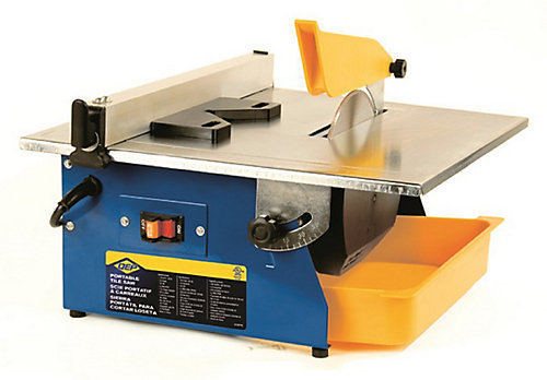 7 Inch Master Cut Portable Tile Saw With 120 V Motor And Seven Diamond Blade