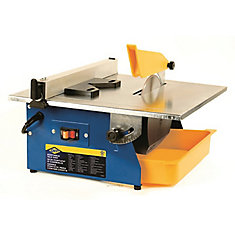 how to cut tiles with edge chipping on bench cutter