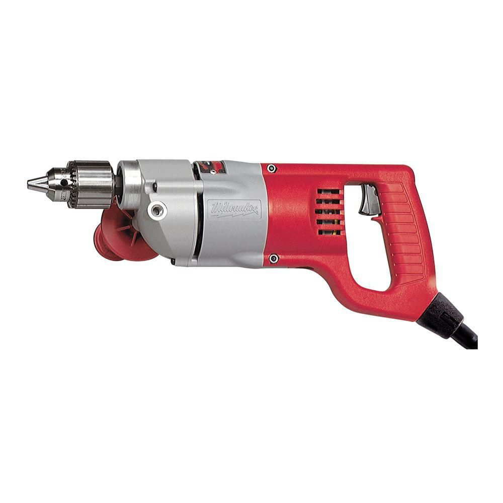 1/2-inch D-Handle Drill with Fixed Cord