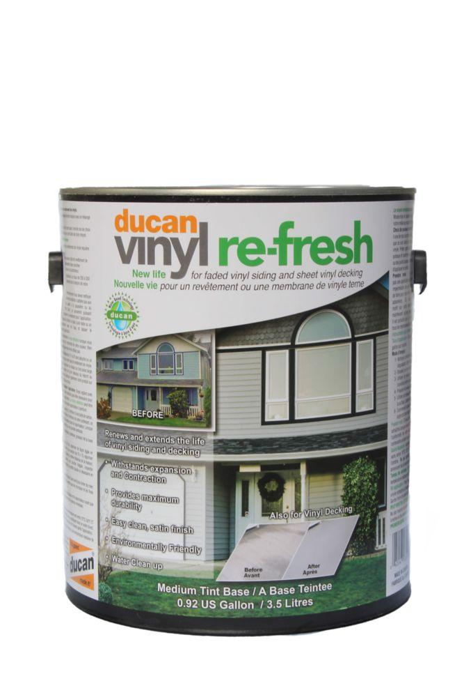 Vinyle Rafraichis, couche utilisé pour rafraichir l'apparence de votre vieille membrane de vinyle...