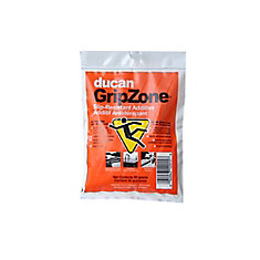 slip resistant additive is a polymer bead formula which can be added to concrete glaze, sealers, stains, and paints to create a safer slip resistant surface.