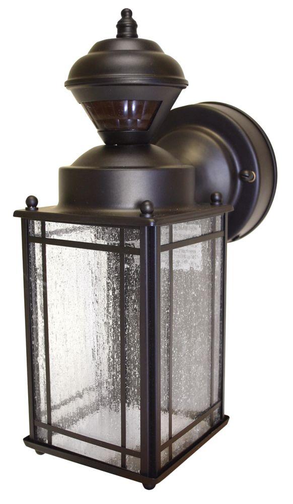 Lanterne Shaker Cove Mission de 150 degrés avec verre à bulle - bronze vieilli à l'huile