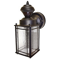 150 Degree Shaker Cove Lantern with Seeded Glass - Oil Rubbed Bronze