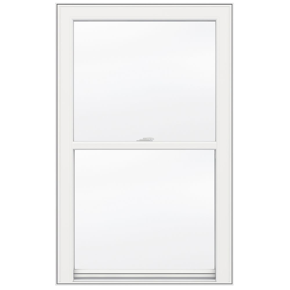 Jeld wen windows doors 5000 series vinyl single hung for 14 inch window