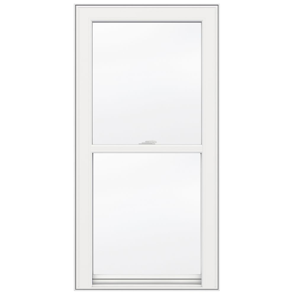 24-inch x 48-inch 5000 Series Single Hung Vinyl Window with 3 1/4-inch Frame