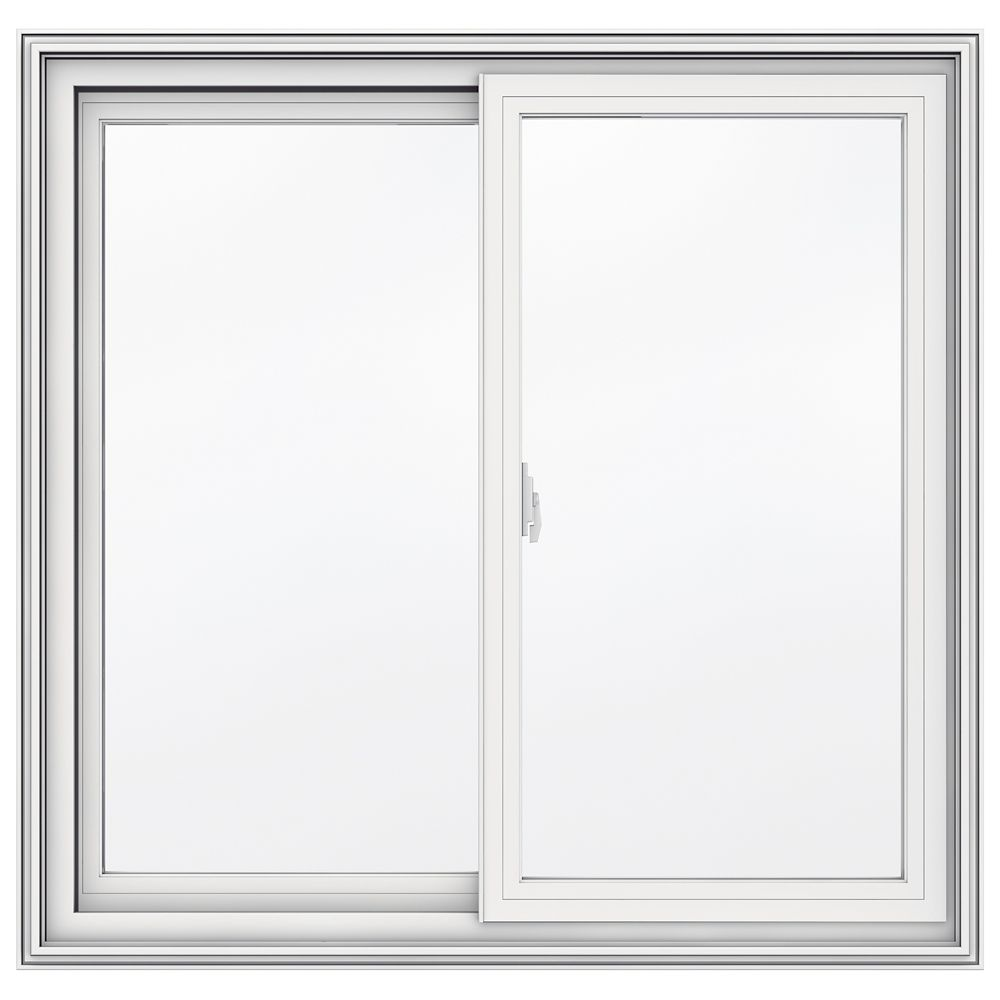 Jeld wen windows doors 5000 series vinyl double sliding for 14 inch window