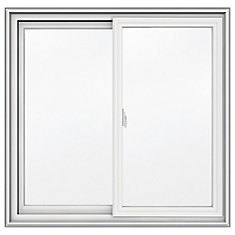 36-inch x 35-inch 5000 Series Vinyl Double Sliding Window with 3 1/4-inch Frame
