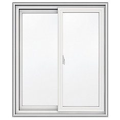 30-inch x 36-inch 5000 Series Vinyl Double Sliding Window with 3 1/4-inch Frame - ENERGY STAR®