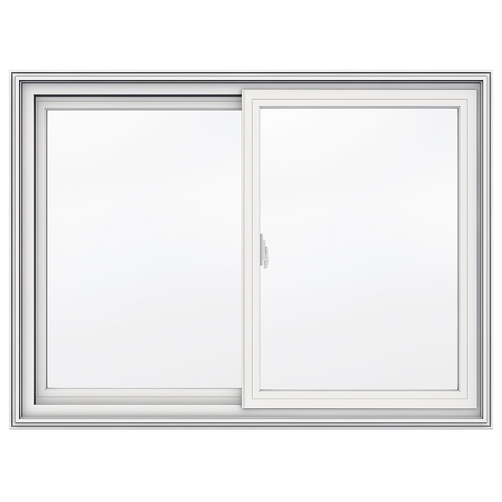 42-inch x 31-inch 5000 Series Vinyl Double Sliding Window with 3 1/4-inch Frame