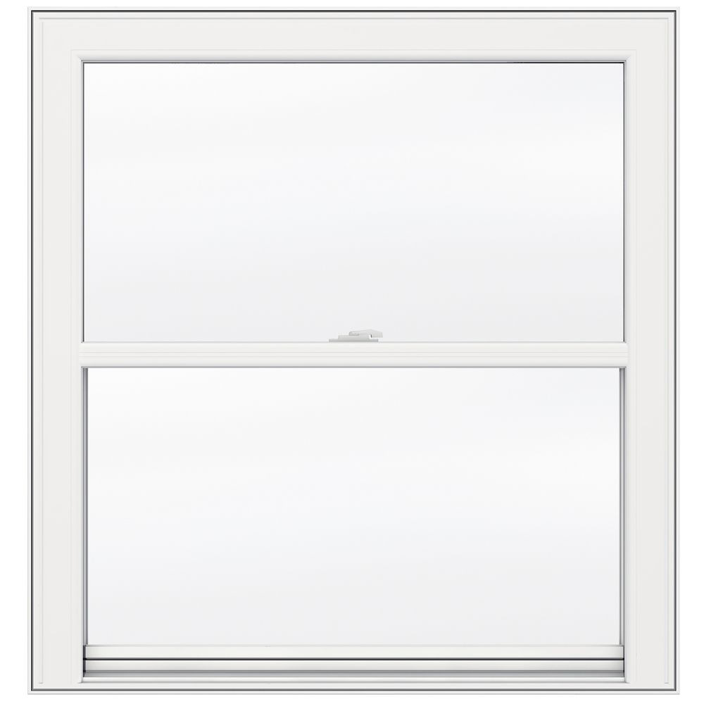 36-inch x 48-inch 5000 Series Single Hung Vinyl Window with 3 1/4-inch Frame