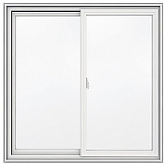 42-inch x 42-inch 5000 Series Vinyl Double Sliding Window with 3 1/4-inch Frame - ENERGY STAR®
