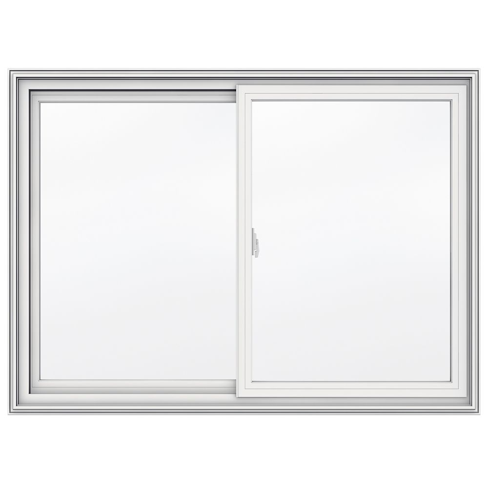48-inch x 35-inch 5000 Series Vinyl Double Sliding Window with 3 1/4-inch Frame