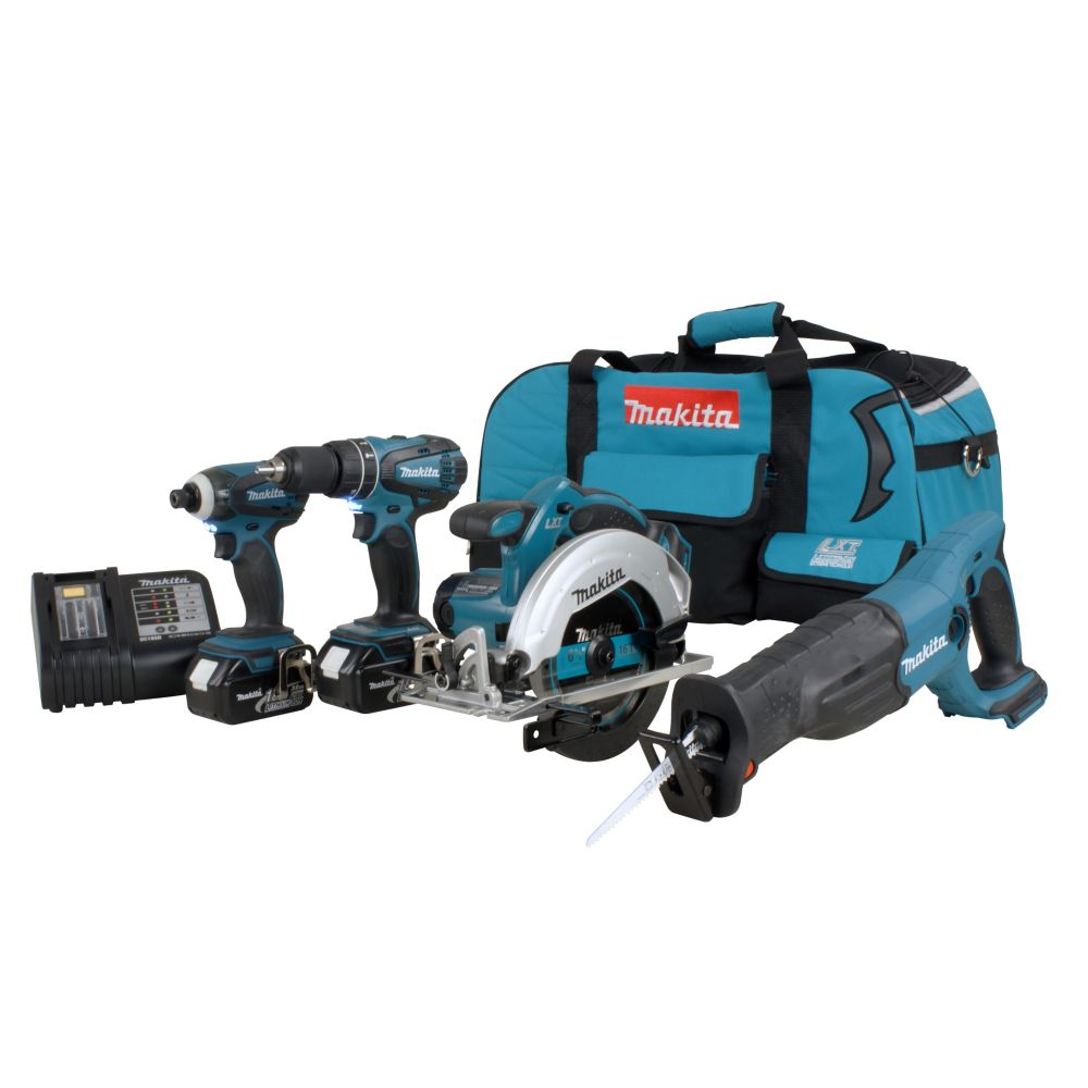 18V Cordless Four-Piece Combo Kit