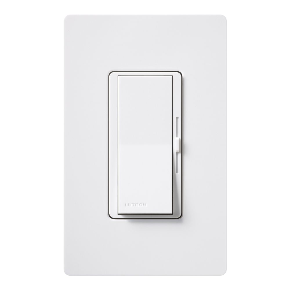 Gradateur Diva Eco-dim de Lutron, unipolaire 600 watts, application 3-voies