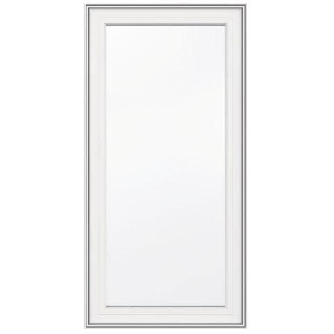 24-inch x 48-inch 5000 Series Vinyl Left Handed Casement Window with 3 1/4-inch Frame