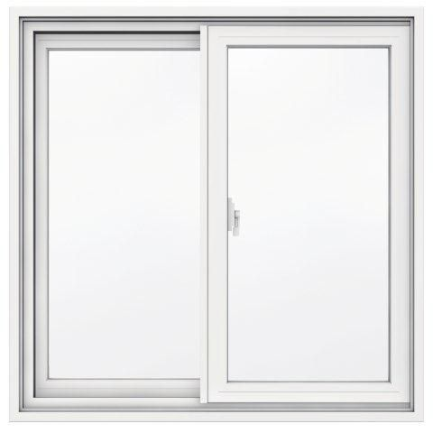31 5/8-inch x 30 7/8-inch 1700 Series Sliding Vinyl Clad Window with 4 9/16-inch Frame