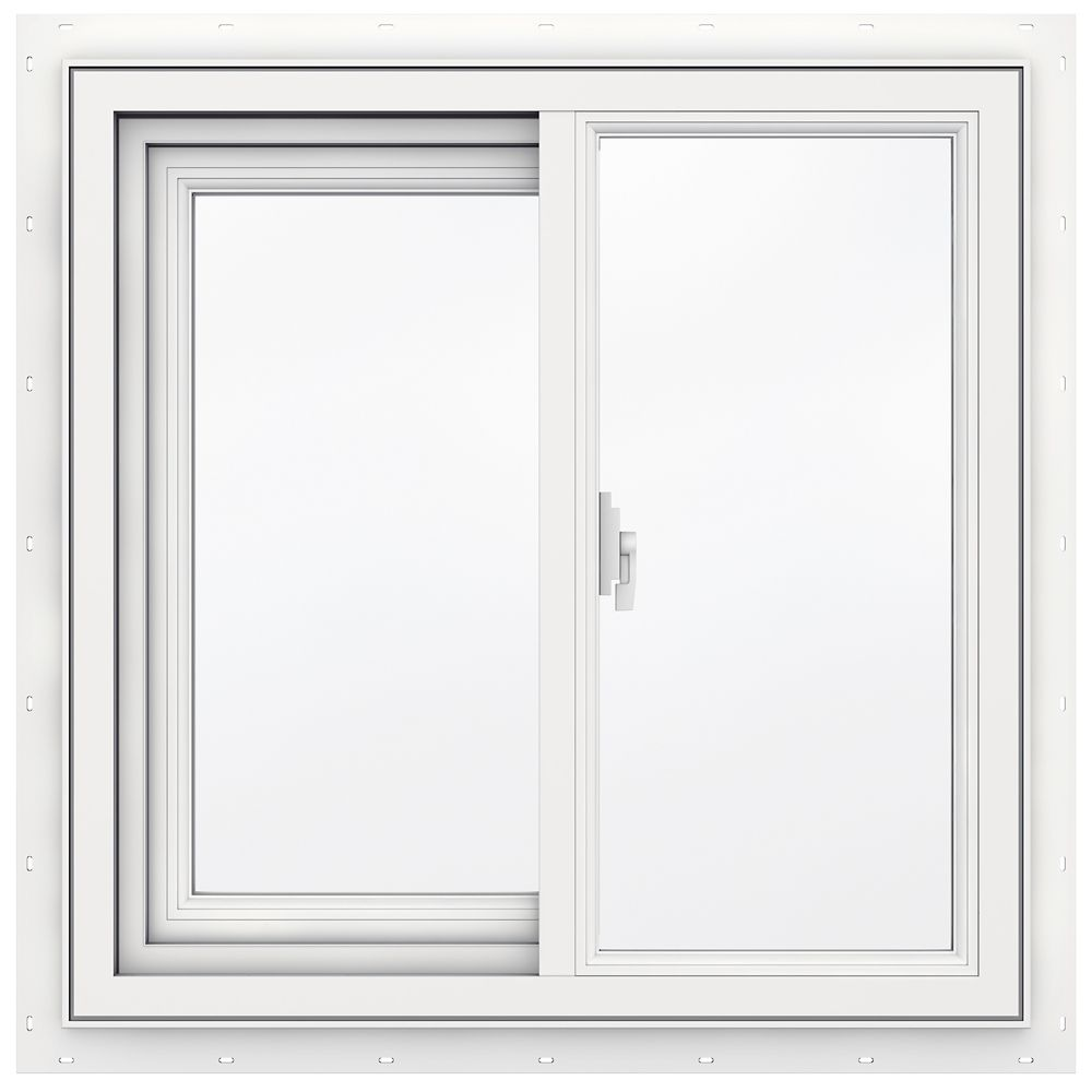 3500 SERIES Vinyl Slider Window 24 Inch x 24 Inch