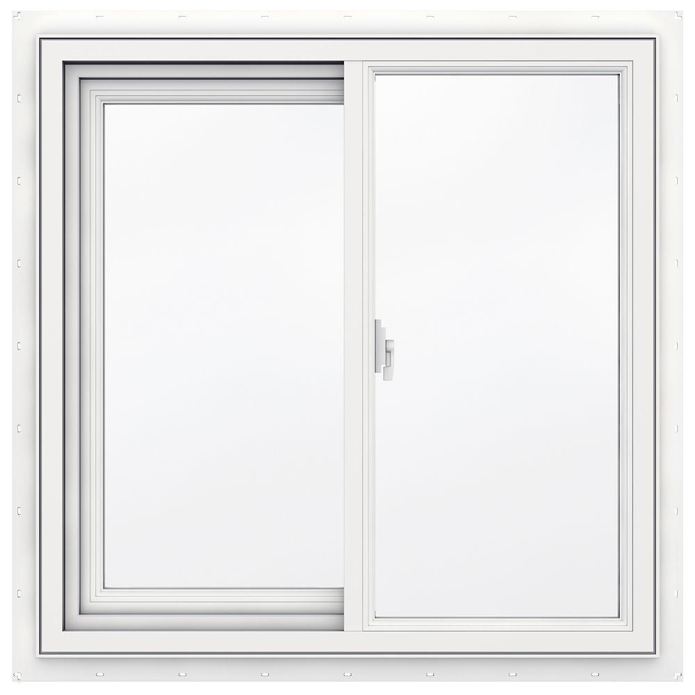 30-inch x 30-inch 3500 Series Sliding Vinyl Window