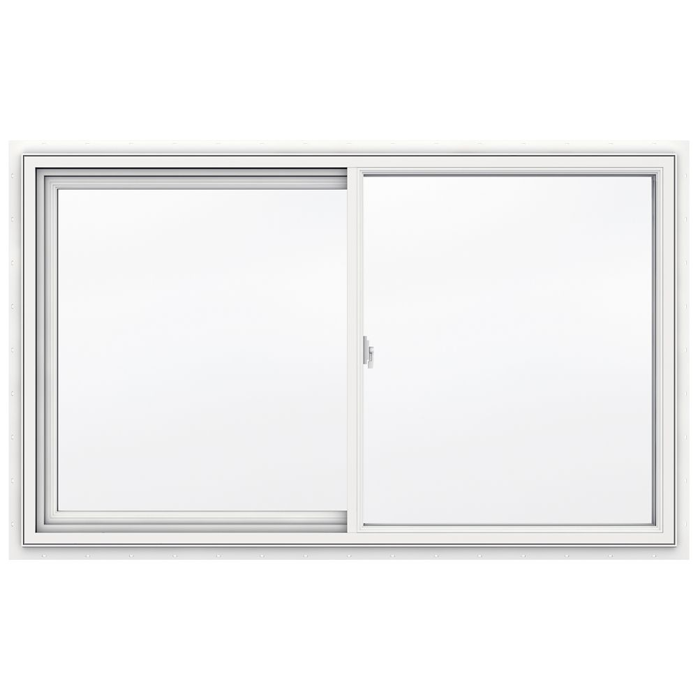 5000 series vinyl left handed casement window 24x48 3 1 4 for 14 inch window