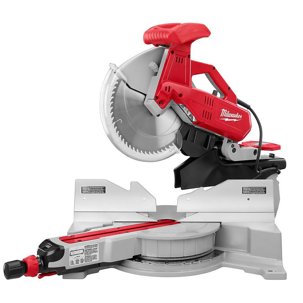 Milwaukee Tool 12 Inch Dual Bevel Sliding Compound Mitre Saw The